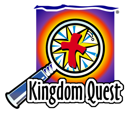 Kingdom Quest logo negative space medium