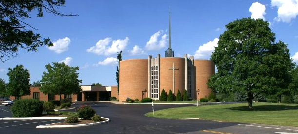 Picture Chapel from parking lot