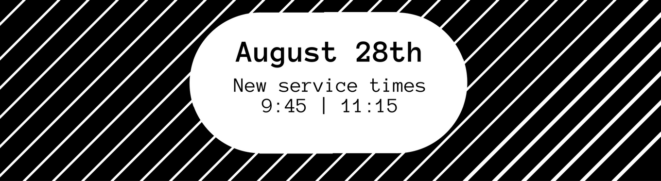 Fall 2016 New Service Times