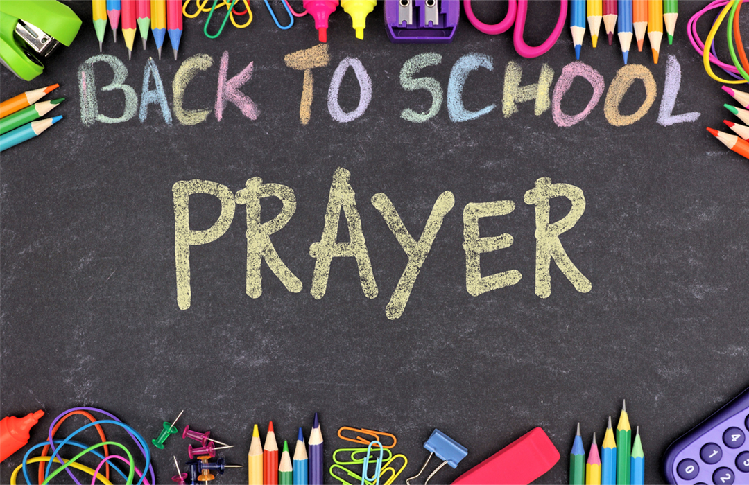 Back to School Prayer image