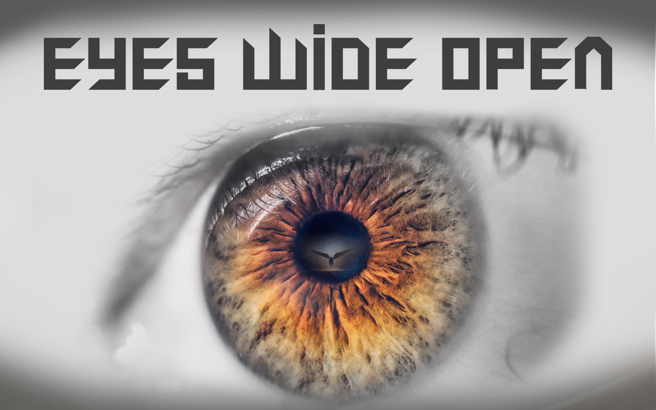 Eyes wide open wide website event image