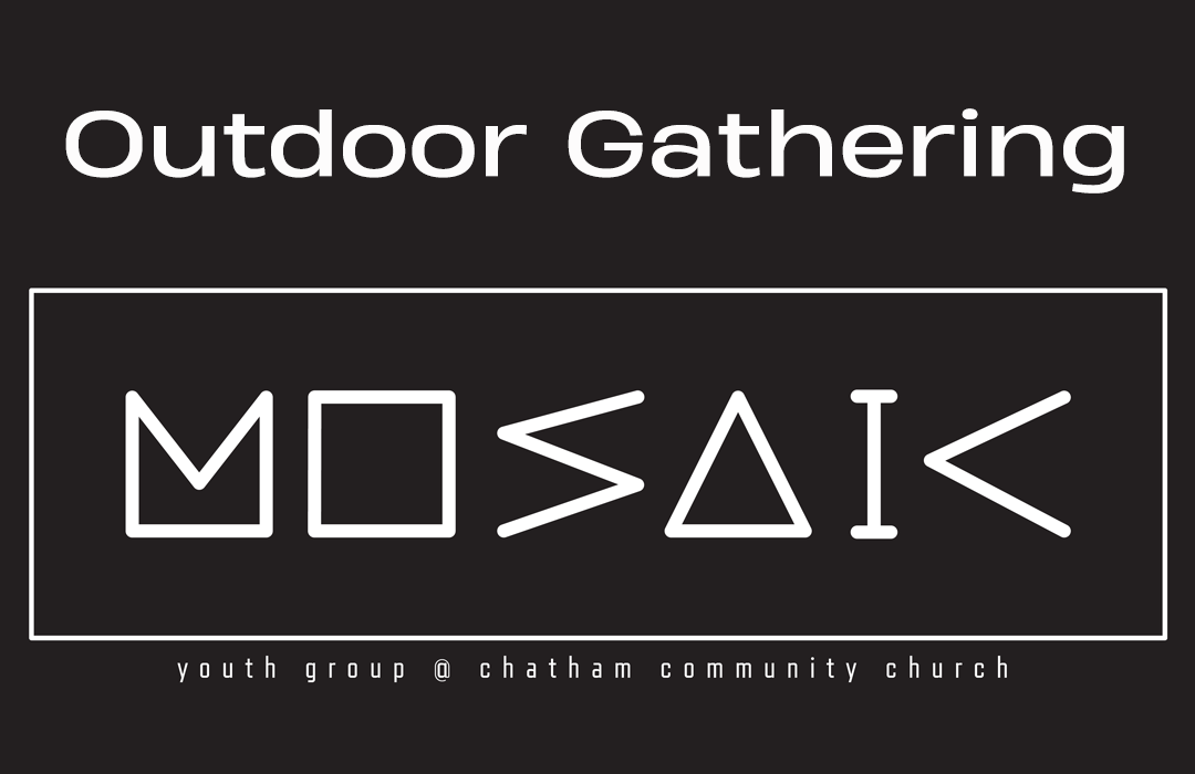 Mosaic website event Outdoor gathering
