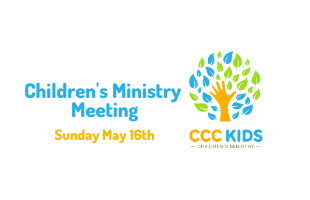 Children's Ministry Meeting EVENT