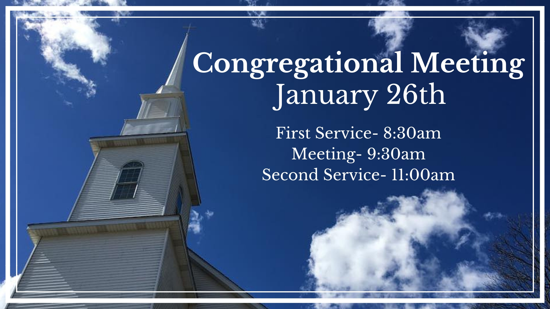 Congregational Meeting-2019