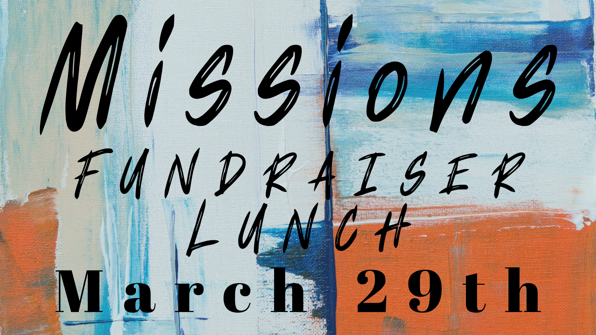 2020 Missions fundraiser lunch image