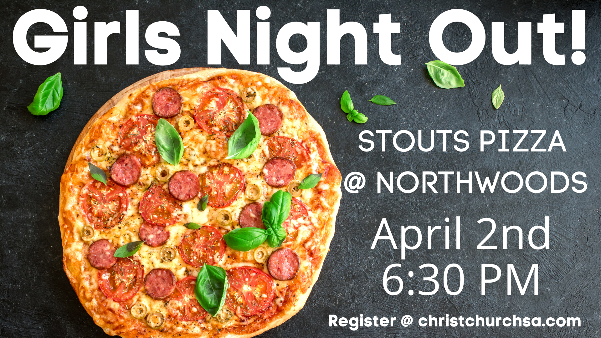 STOUTS Pizza Girls Night Out! image