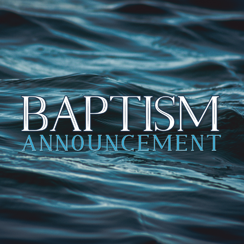 Baptism Announcement 2021 WU
