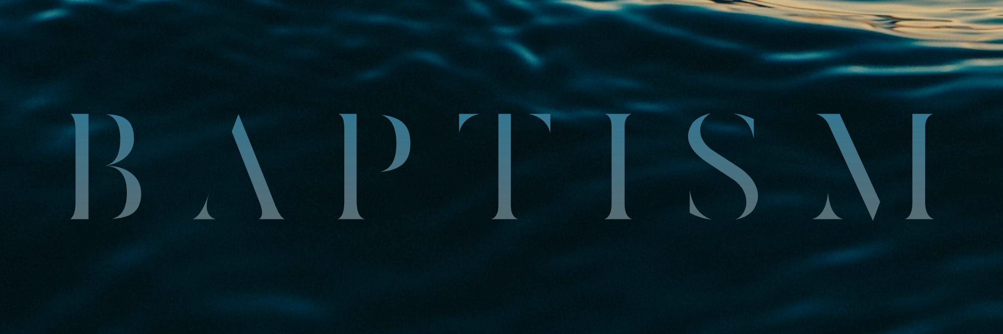 Baptism Announcment Header