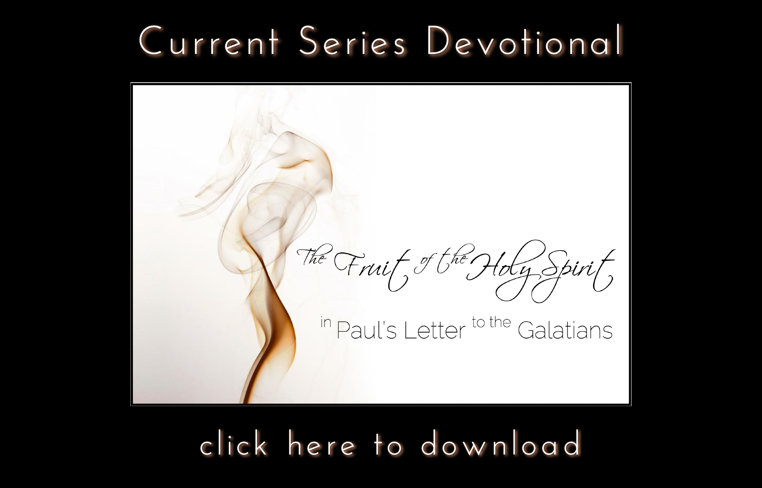 Current Series Devotional Holy Spirit
