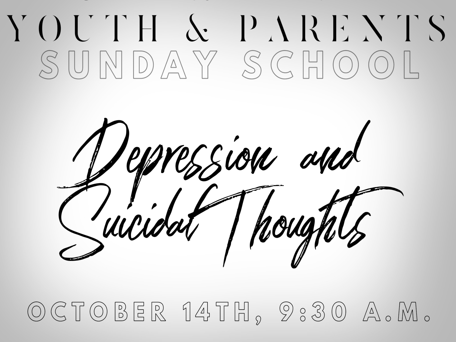 Depression and Suicidal Thoughts SS Large