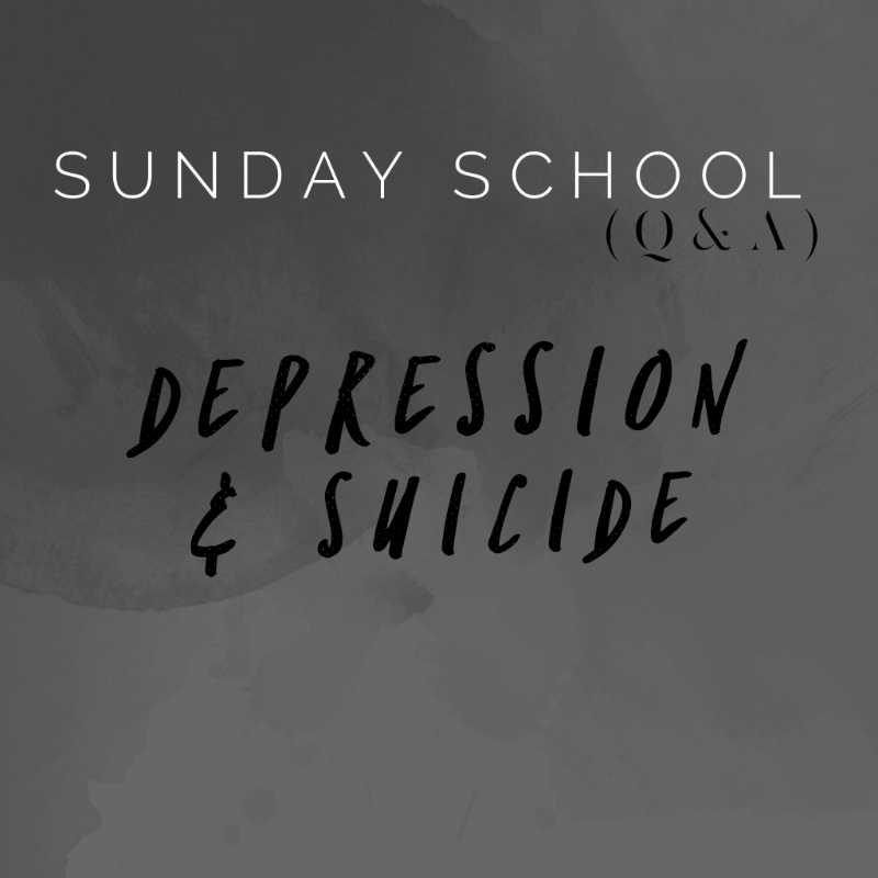 Depression and Suicide SS