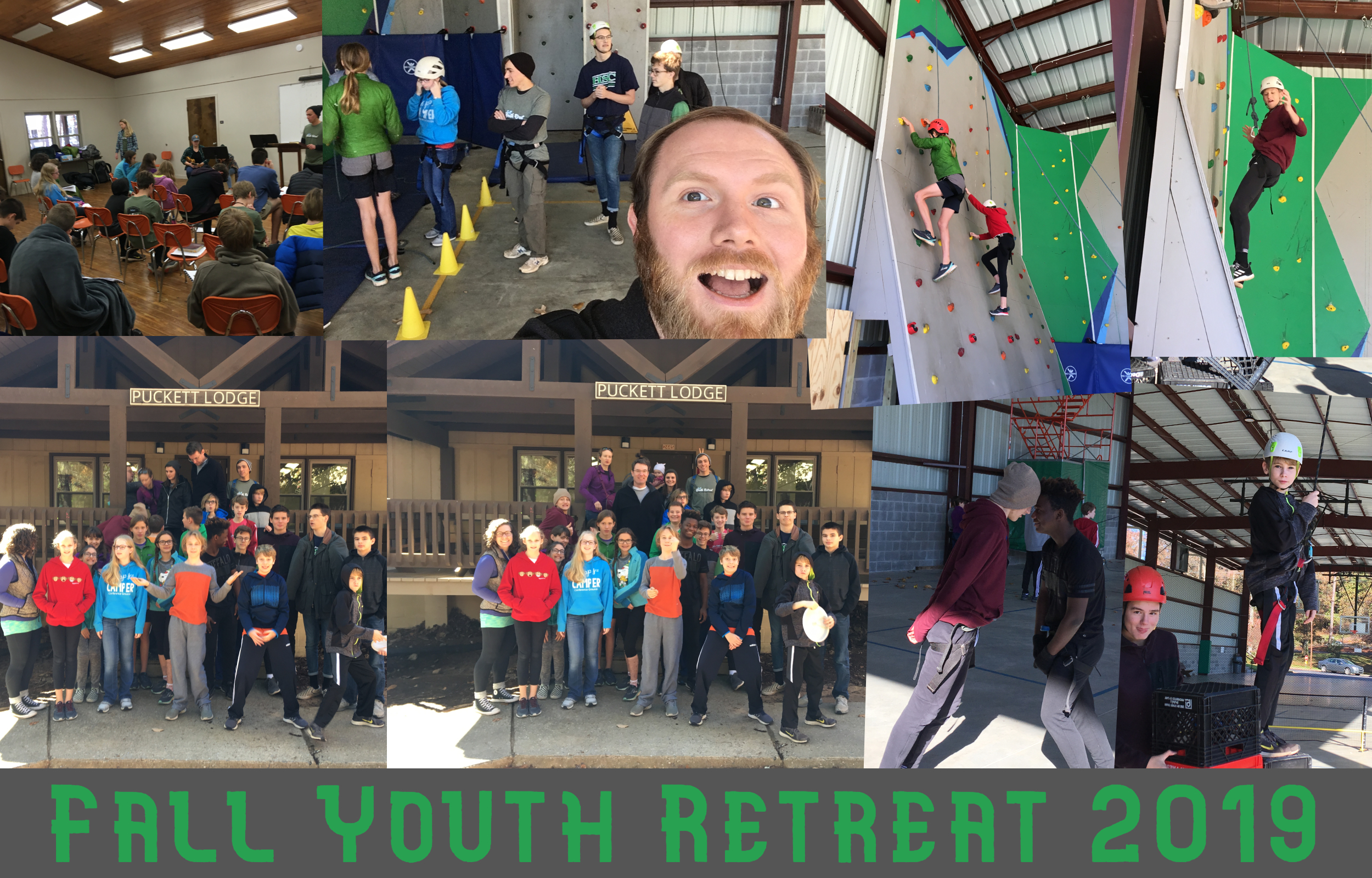 Fall Youth Retreat Collage