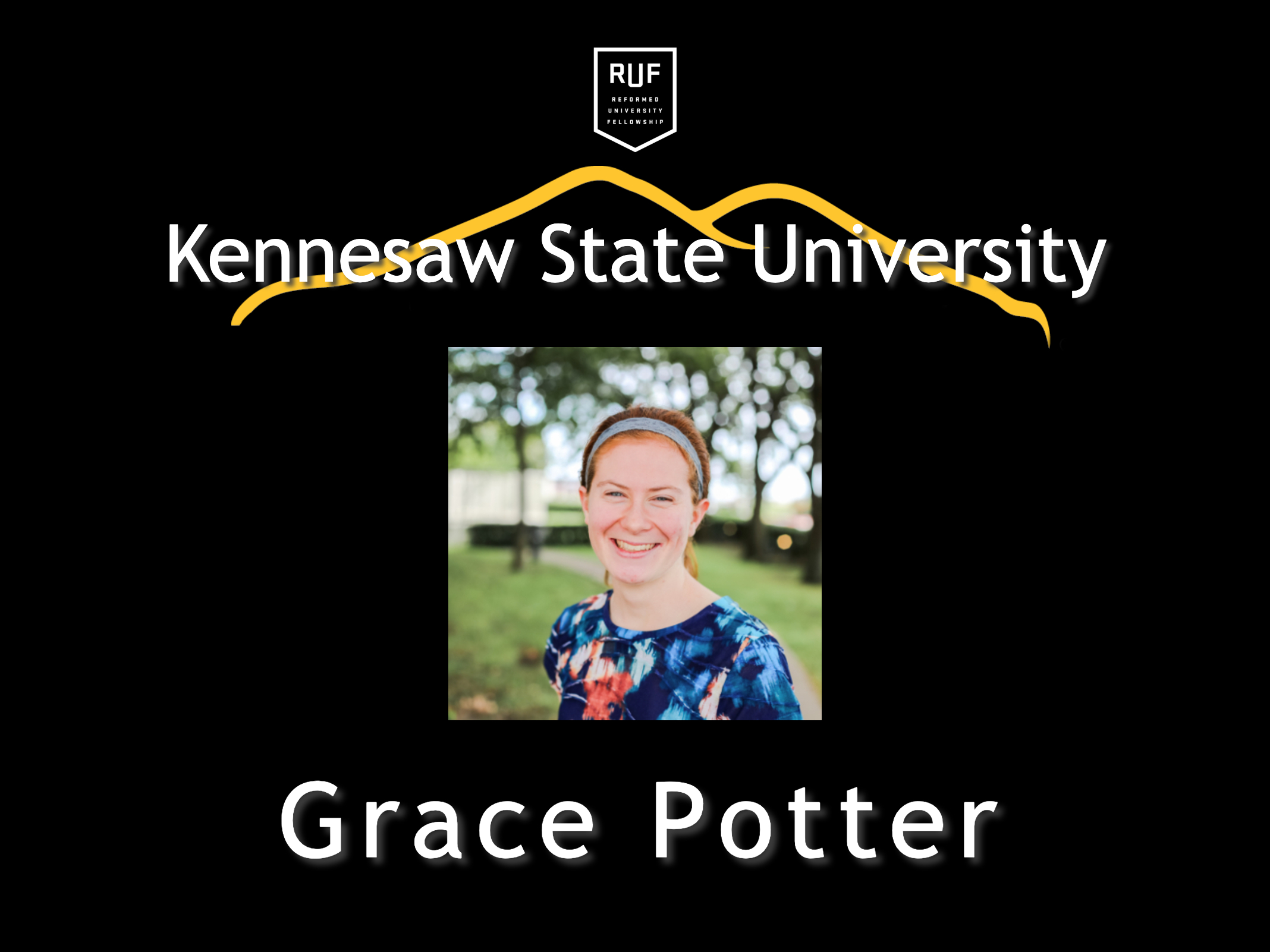 Grace Potter RUF Intern