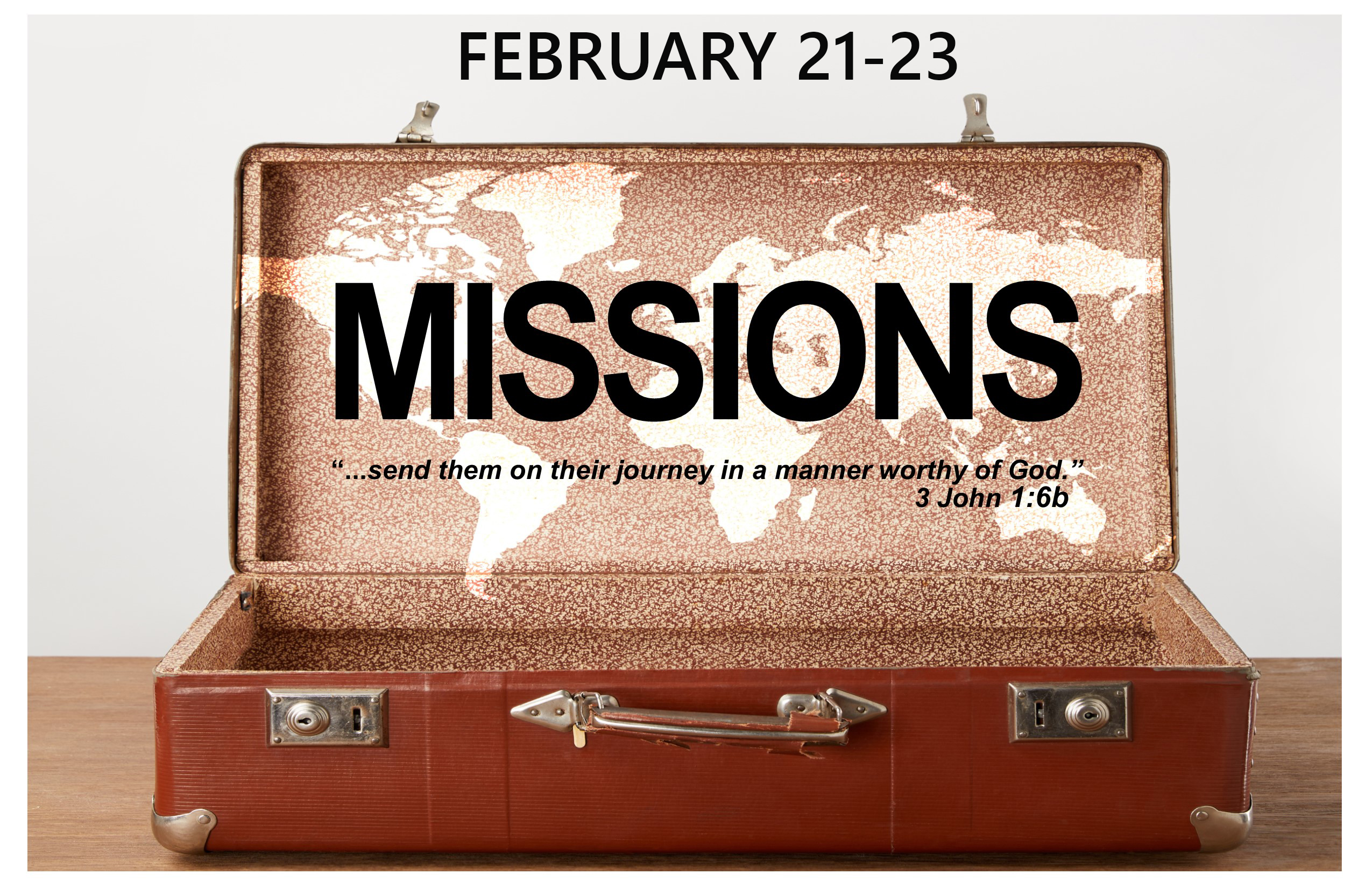 2020 Missions Conference date
