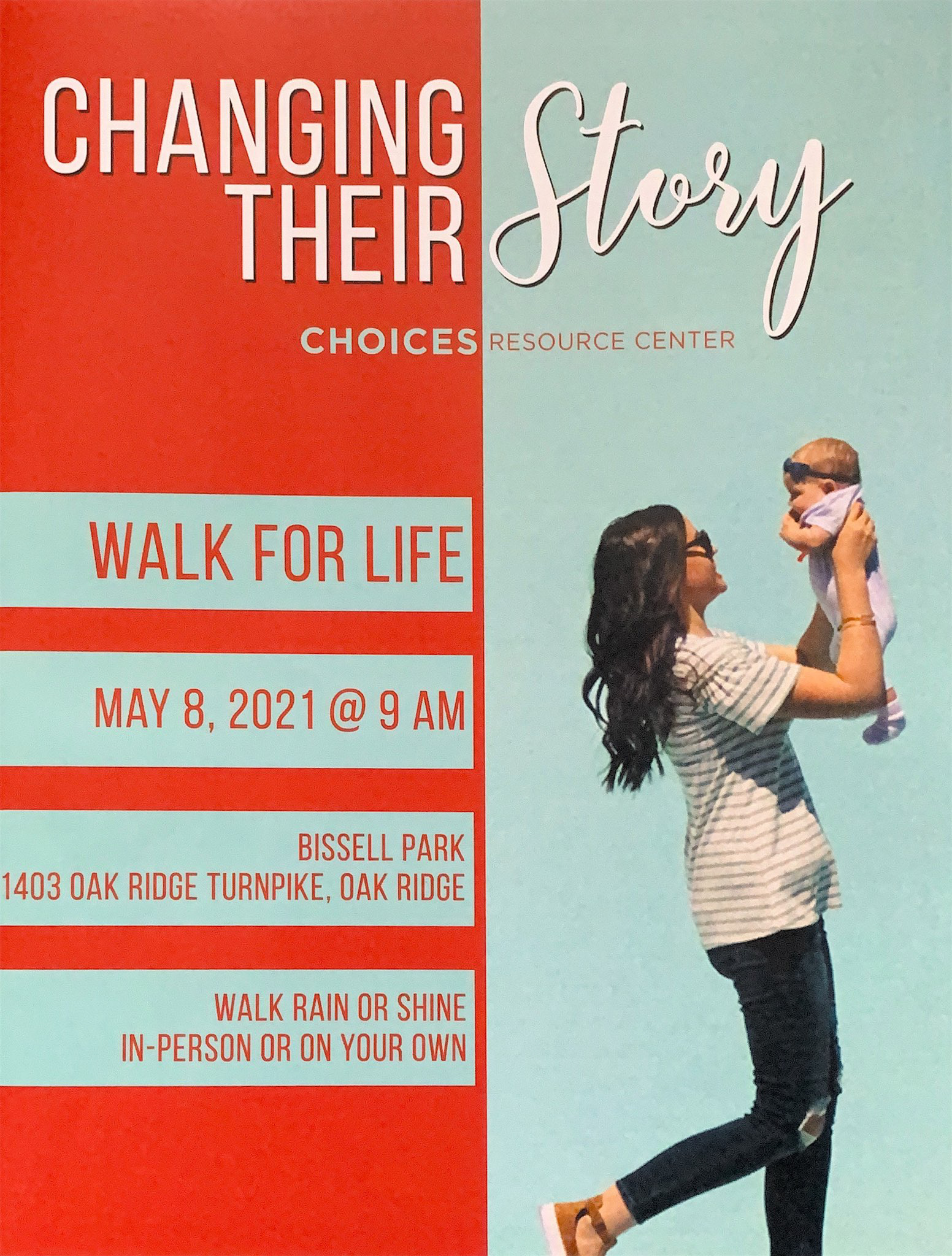 CHANGING - Choices Walk for Life