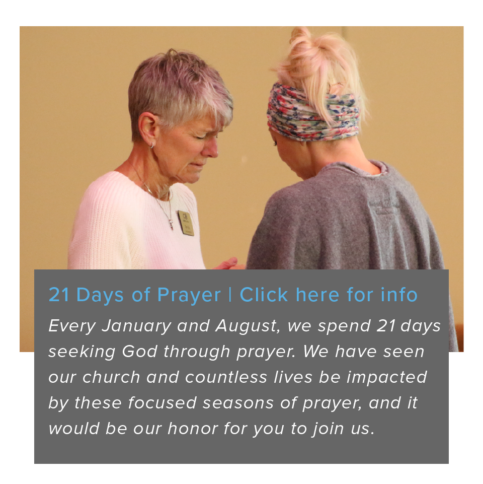 21 Days of Prayer new