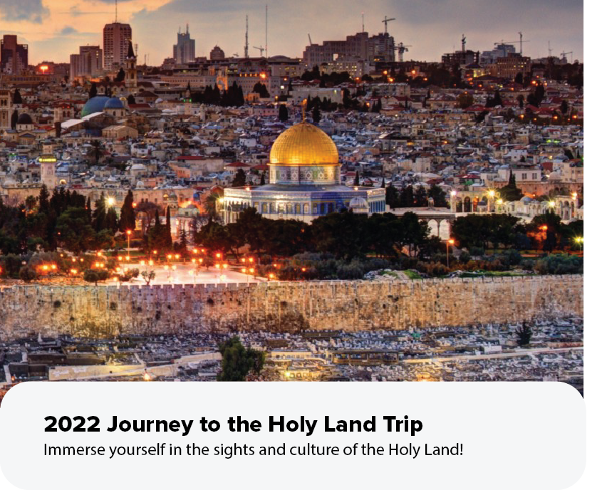 Holy Land 2022 event copy