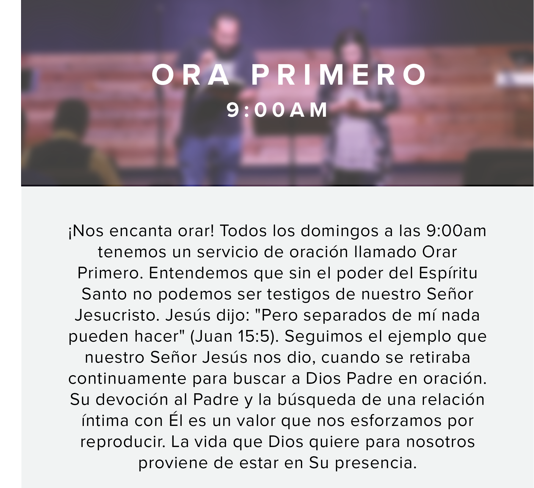 Midtown - Prayer Spanish 2