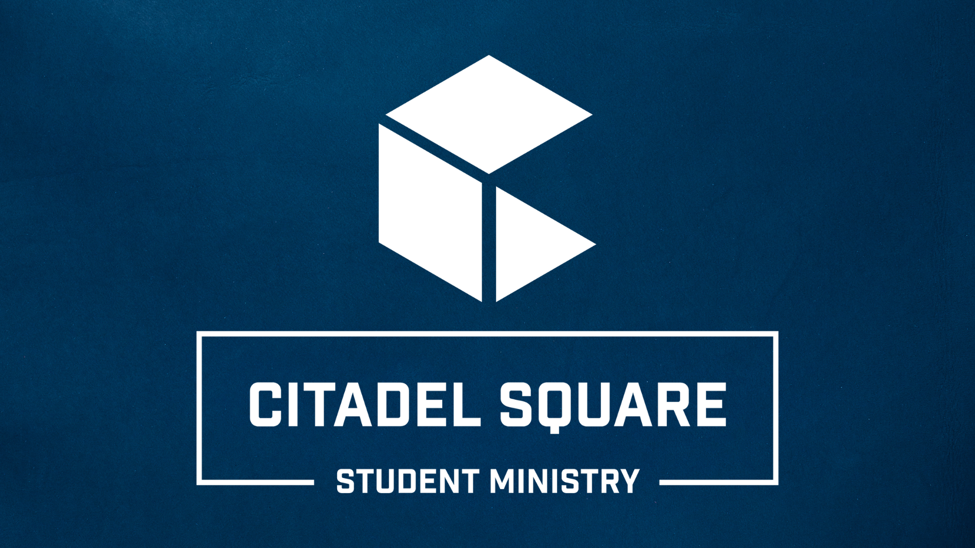 Student Ministries-Blue