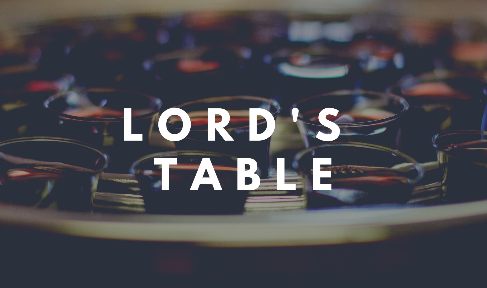 Lord's Table