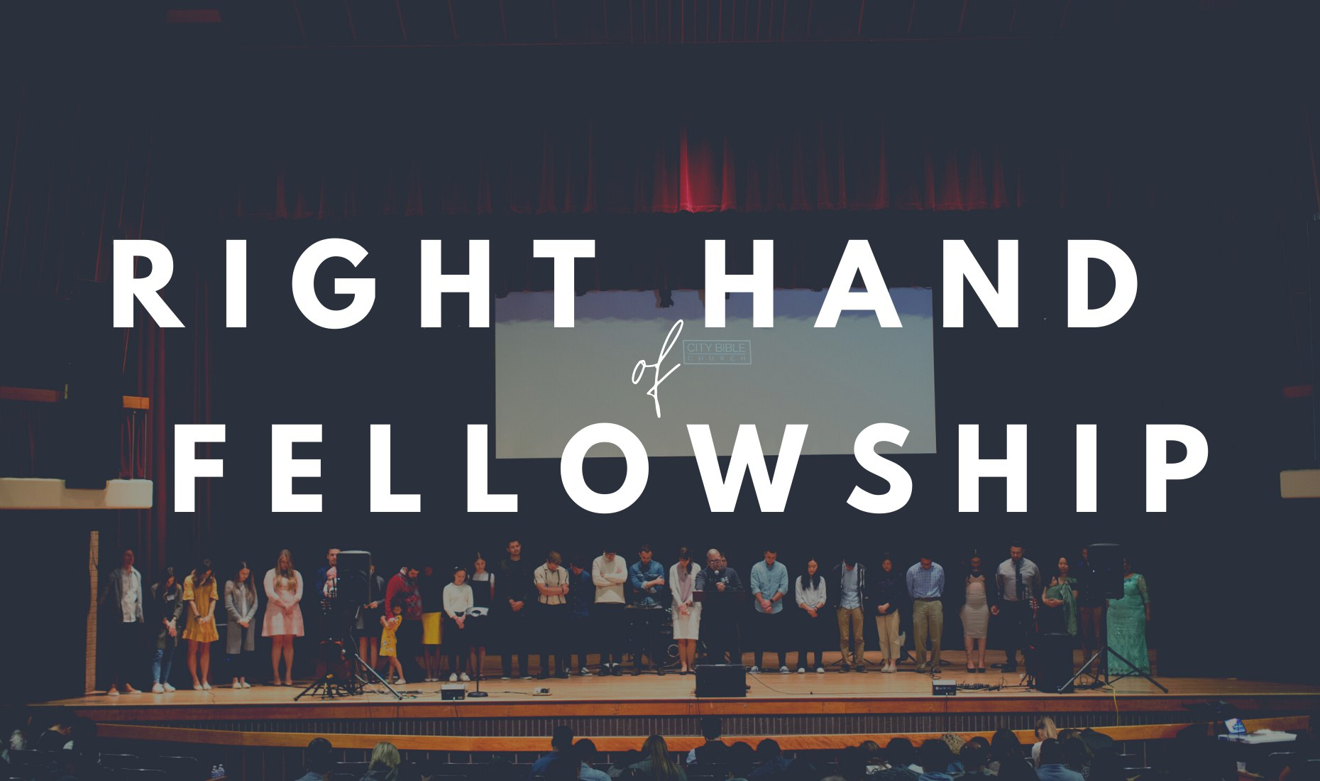 Right Hand of Fellowship image