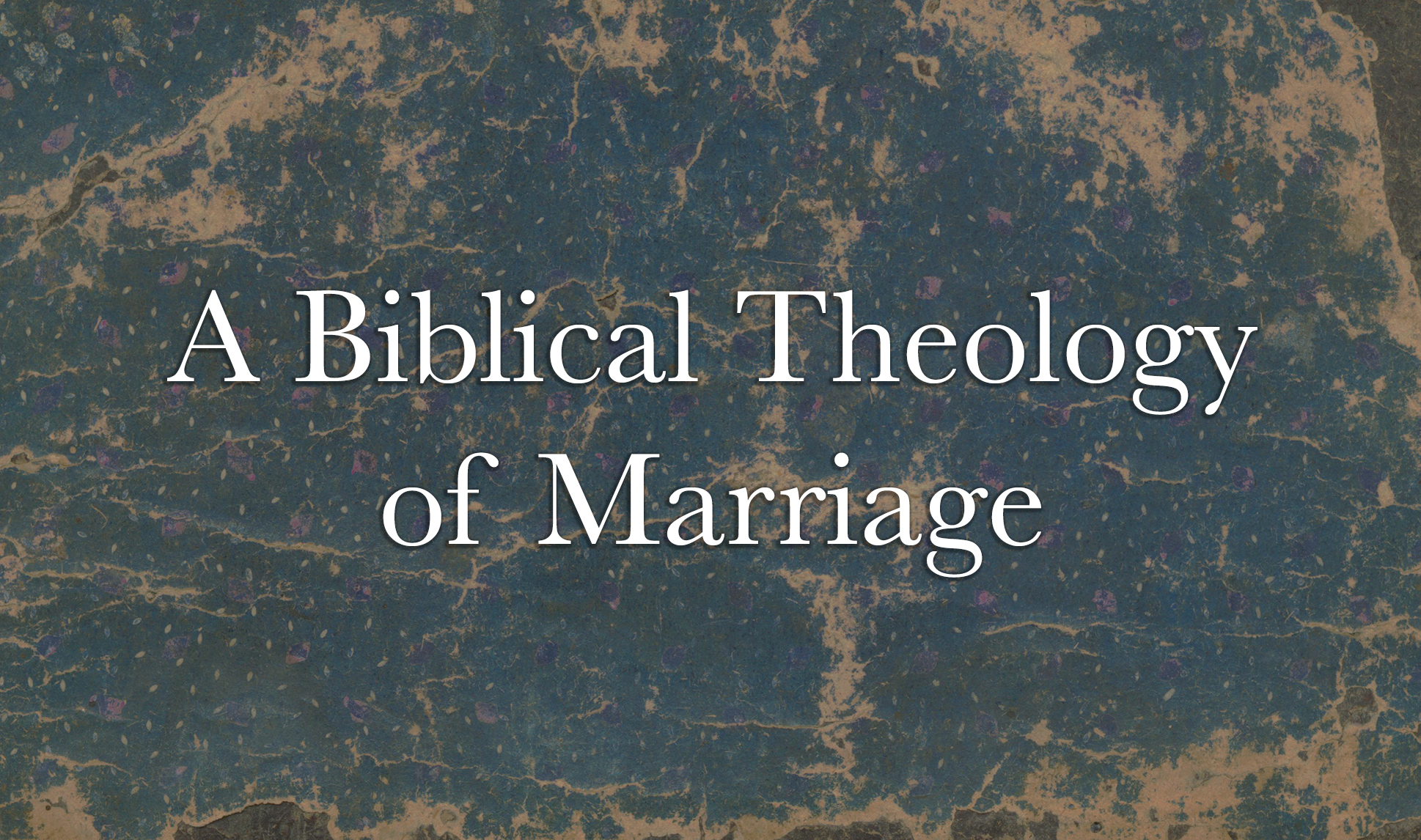 Biblical Theology of Marriage Slide_no date image