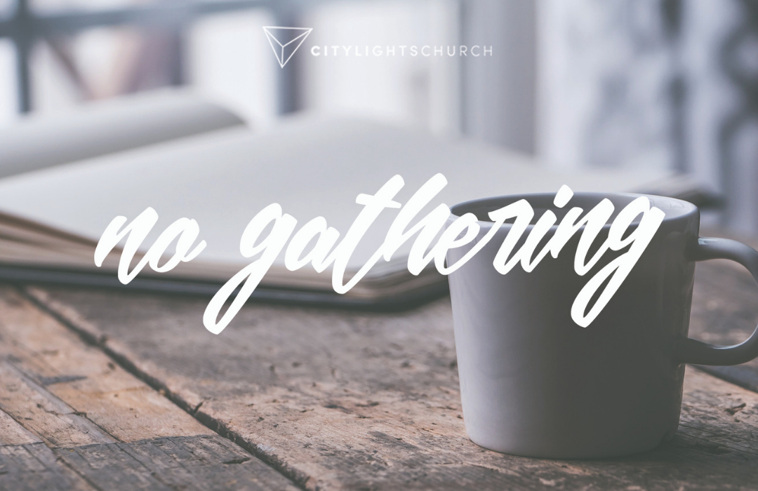 No Gathering Feature Photo image