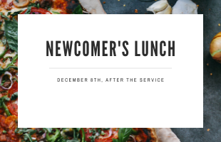 dec8Newcomer's Lunch