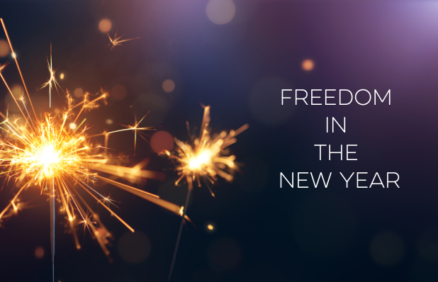 Freedom in the new year