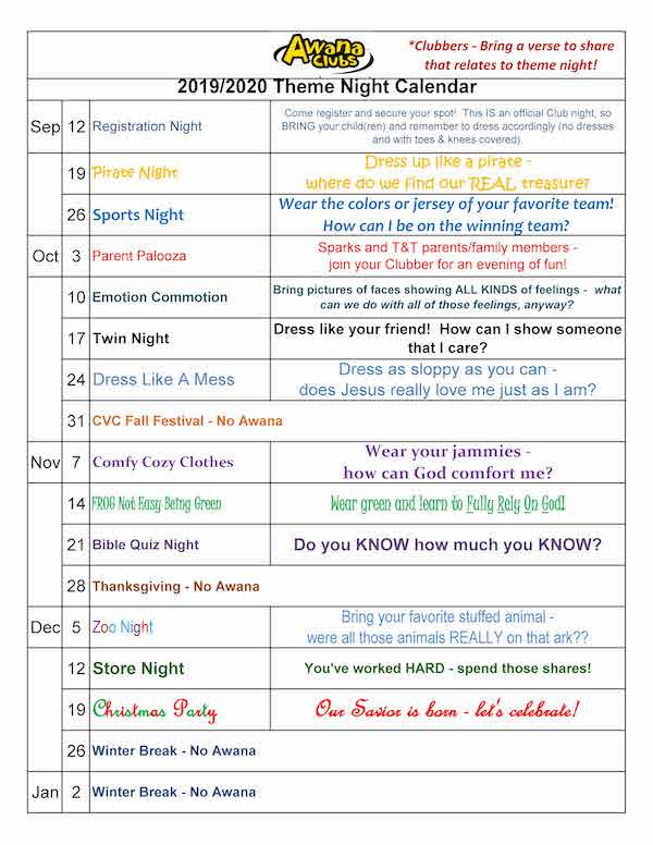 Awana Theme Night Calendar 2019 - 2020 rev. 1_Page_1