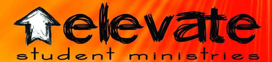 Elevate Student Ministry Banner Logo
