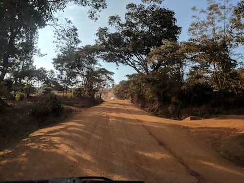 Kenya Road shot