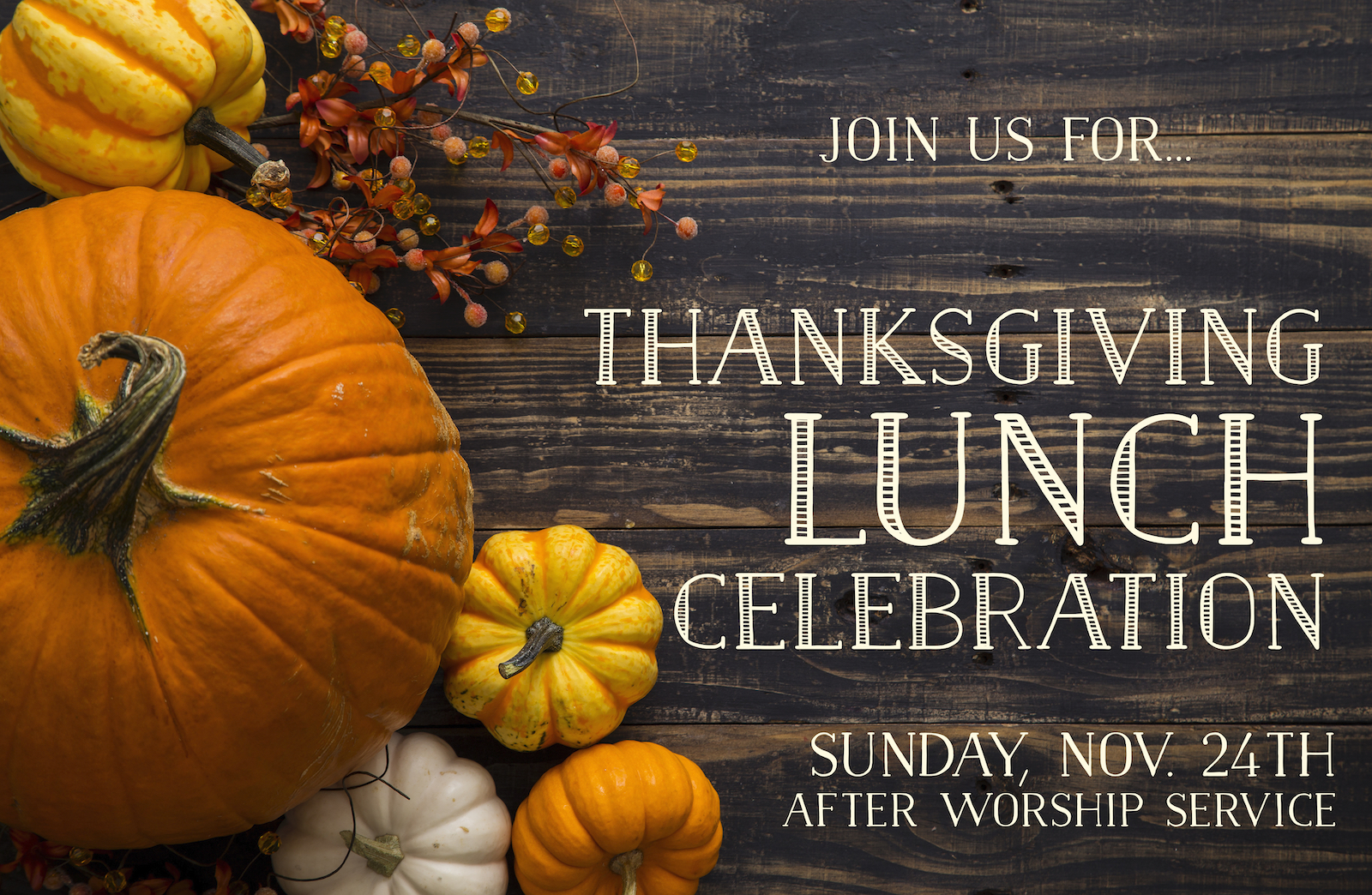 Thanksgiving Celebration 2019 Announcement Slide (1) image