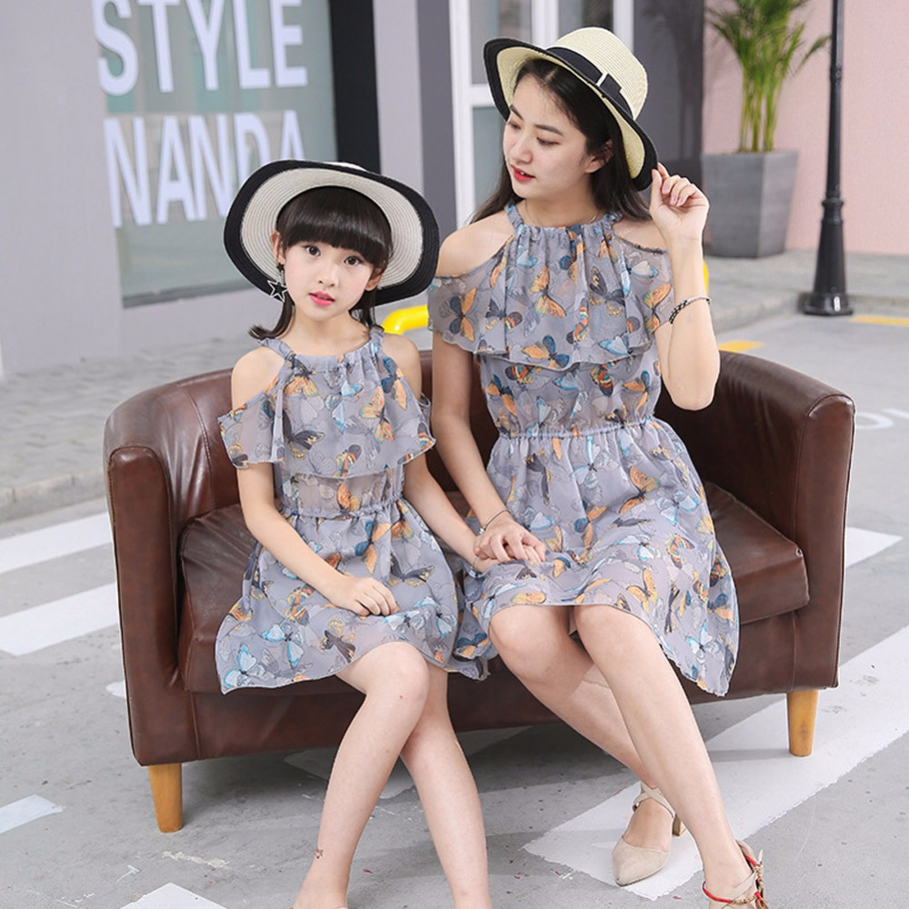 2018-Summer-style-mother-daughter-dresses-family-look-clothing-mom-and-daughter-dress-chiffon-babymm