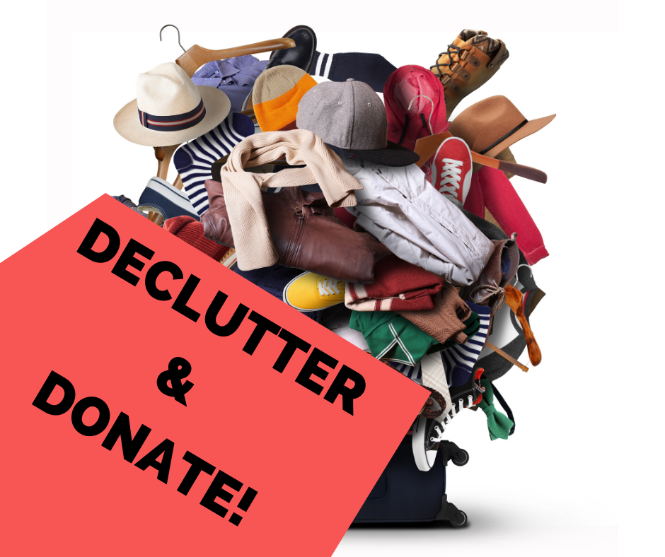 DECLUTTER & DONATE! image