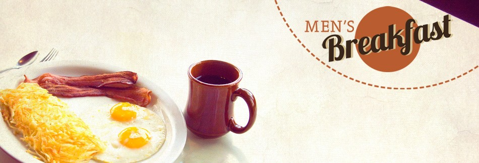 Men's Breakfast Website Banner image