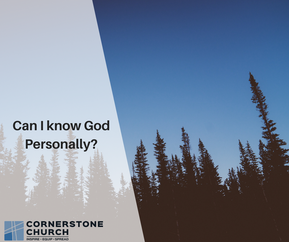 Can I know God Personally_