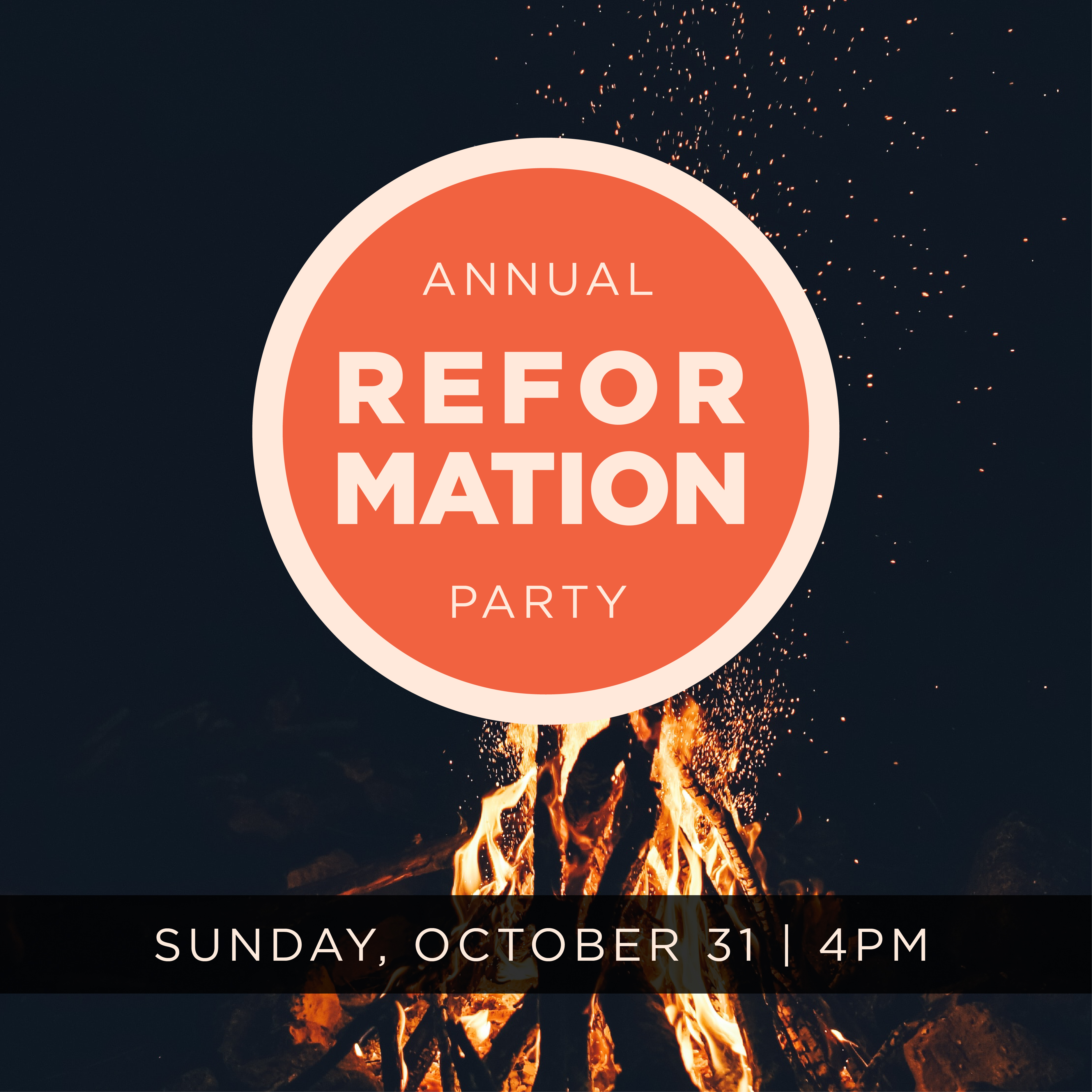 Reformation Party Social image