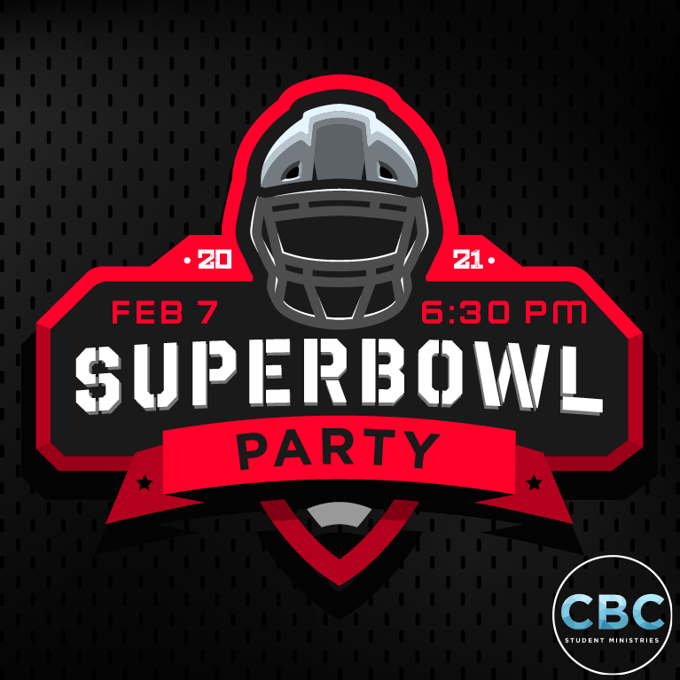 Superbowl Party Social image