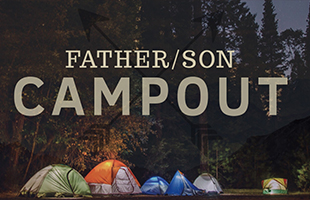 father_son campout_featured image