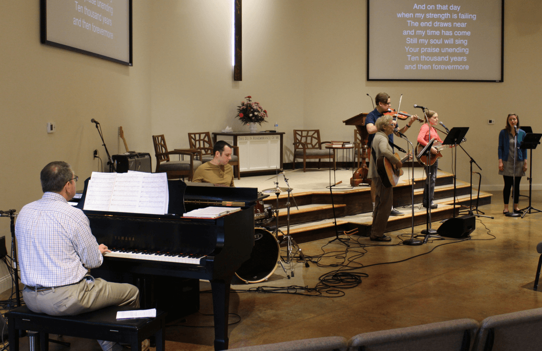 worship service event image