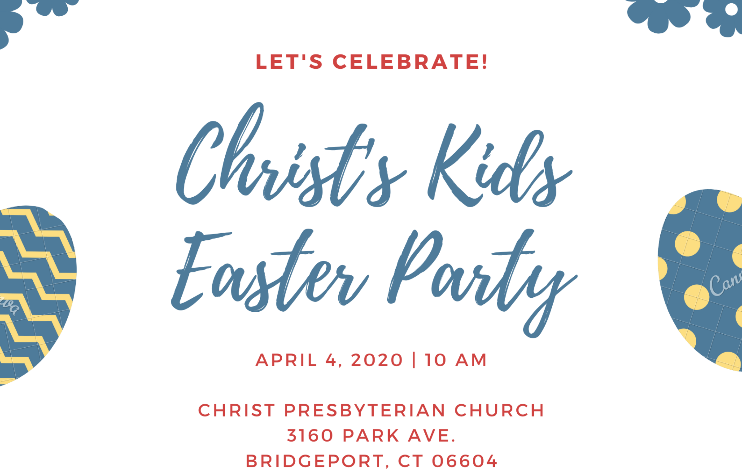 Christ's Kids Easter Party Rotator 2020