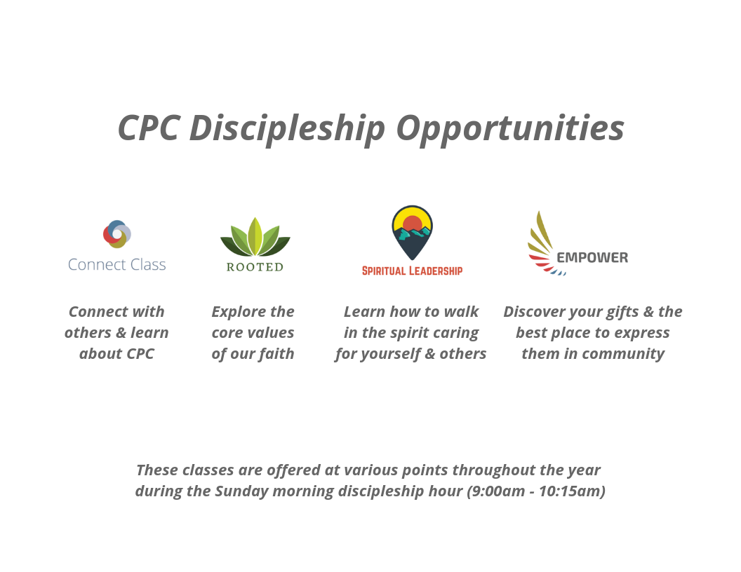 CPC Discipleship Opportunities