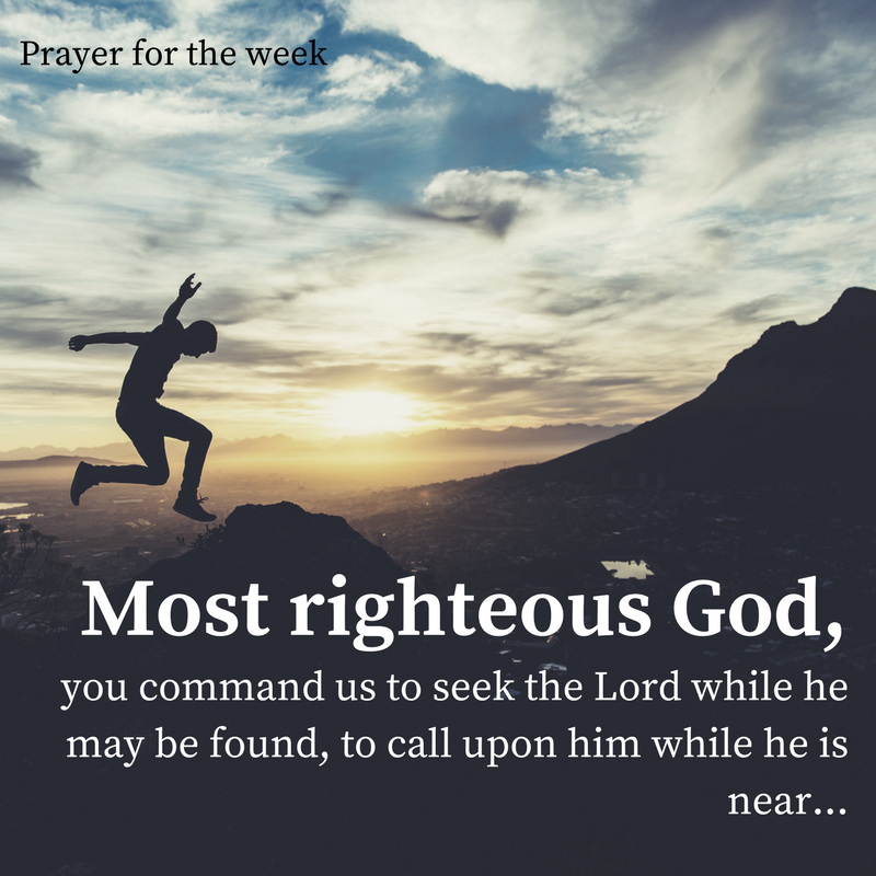 Most righteous God