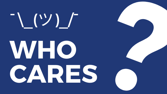 who cares blog banner