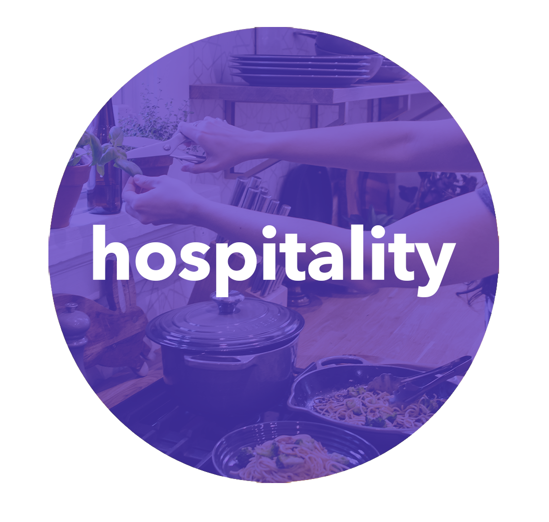 hospitality button