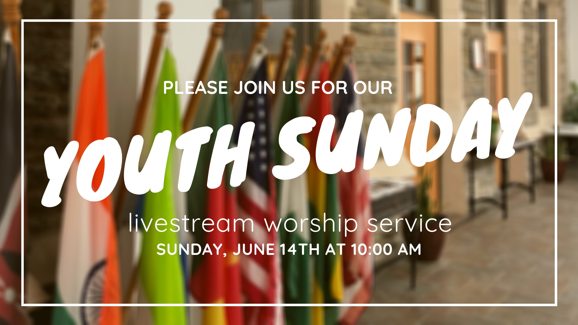 join us youth Sunday crossroads