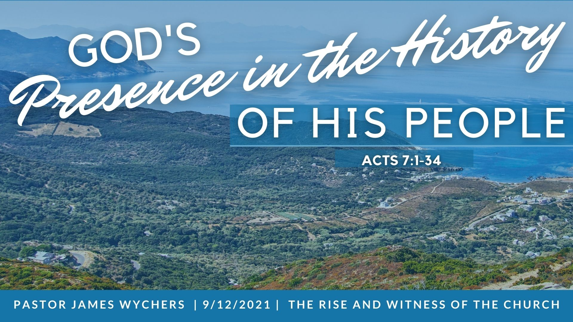 God's Presence in the History of his People_