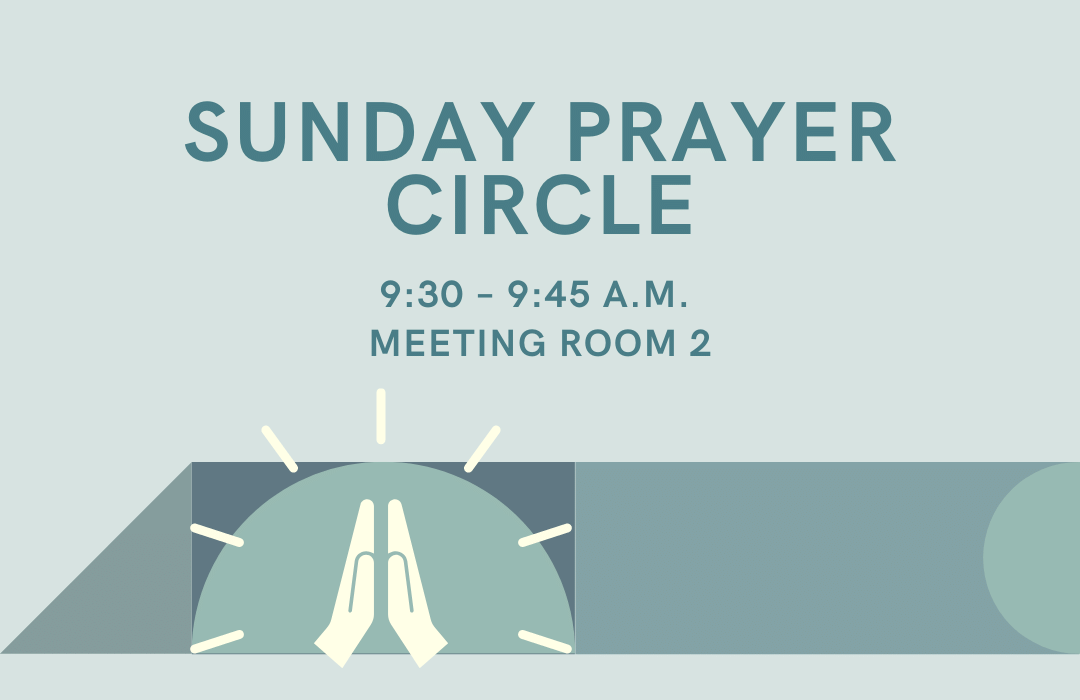 sunday prayer circle_Event
