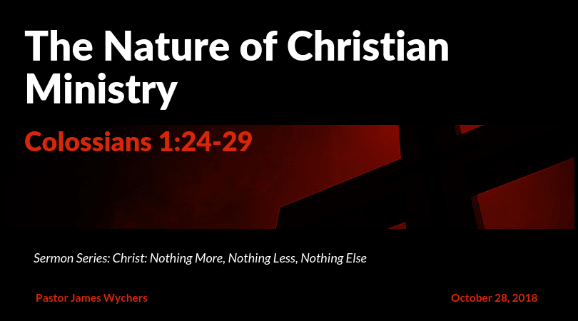 The Nature of Christian Ministry-min